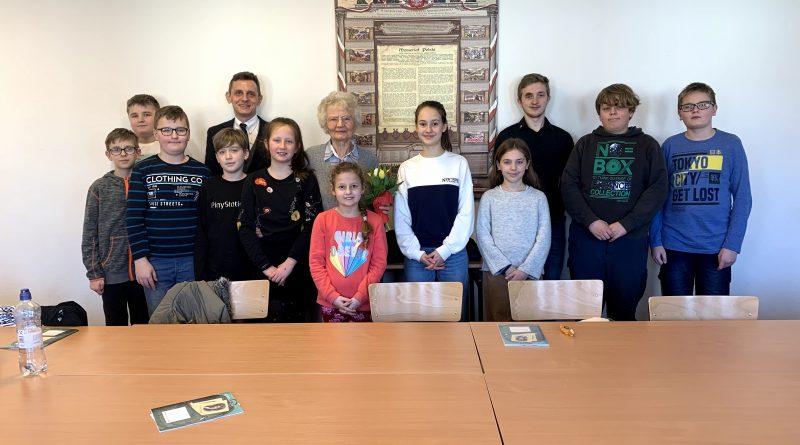 Spotkanie ze świadkiem historii w szkole w Essen