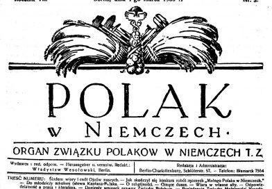 POLAK w NIEMCZECH: Rocznica pierwszego wydania