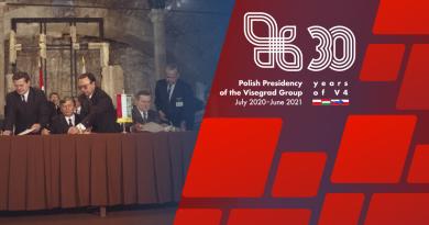30. rocznica współpracy wyszehradzkiej